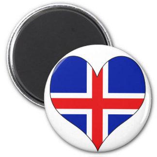 I Love Iceland Magnet