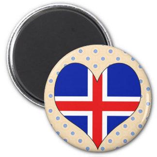 I Love Iceland Refrigerator Magnet
