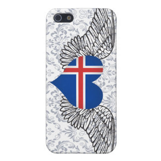 I Love Iceland -wings iPhone 5 Cover