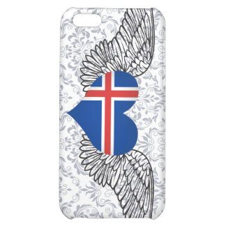 I Love Iceland -wings iPhone 5C Covers