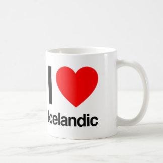 i love icelandic coffee mug