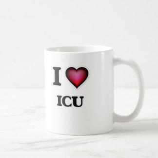 I love Icu Coffee Mug