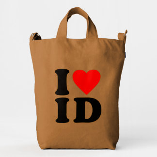 I LOVE ID DUCK BAG