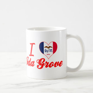 I Love Id +Grove, Iowa Coffee Mug