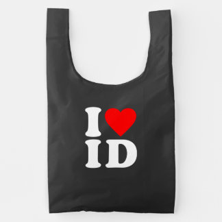 I LOVE ID REUSABLE BAG