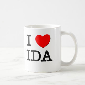 I Love Ida Mugs