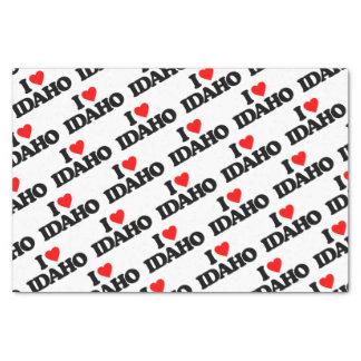 """I LOVE IDAHO 10"""" X 15"""" TISSUE PAPER"""