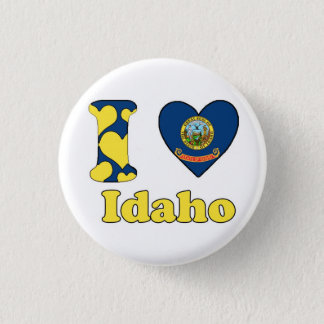 I love Idaho Button