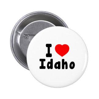 I Love Idaho Pin