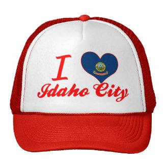 I Love Idaho City, Idaho Mesh Hat