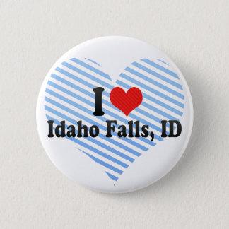 I Love Idaho Falls, ID Button