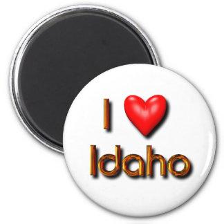 I Love Idaho Fridge Magnet