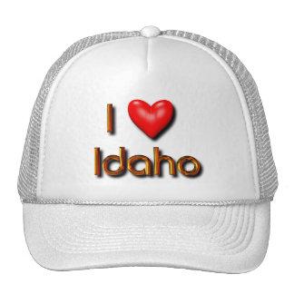 I Love Idaho Hats