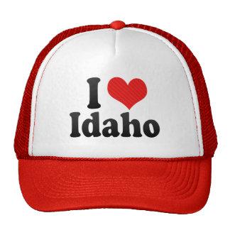 I Love  Idaho Trucker Hats