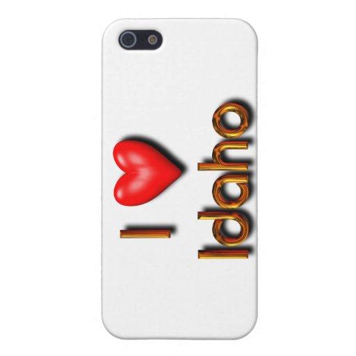 I Love Idaho iPhone 5 Cases