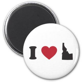 I Love Idaho Refrigerator Magnets