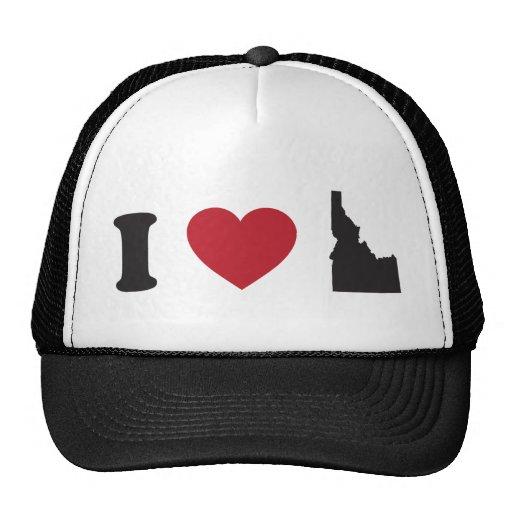 I Love Idaho Mesh Hat