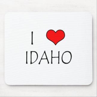 I Love Idaho Mouse Pad