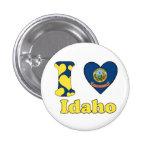 I love Idaho Pin Redondo 2,5 Cm