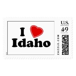I Love Idaho Postage Stamps
