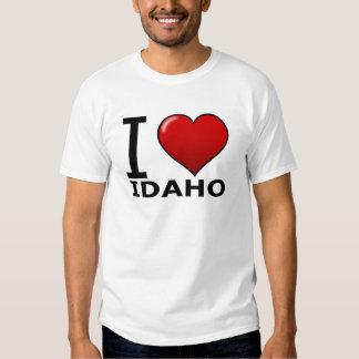 I LOVE IDAHO T SHIRT