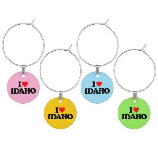 I LOVE IDAHO WINE CHARM