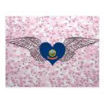 I Love Idaho -wings Postcard