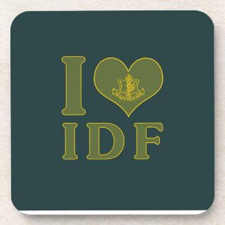 I Love IDF - Israel Defense Forces Coaster