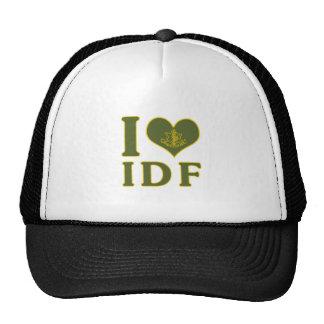 I Love IDF - Israel Defense Forces Trucker Hat