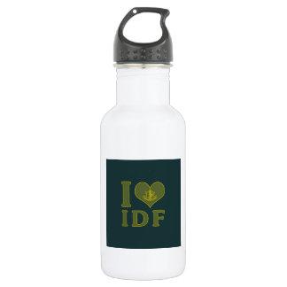 I Love IDF - Israel Defense Forces Water Bottle