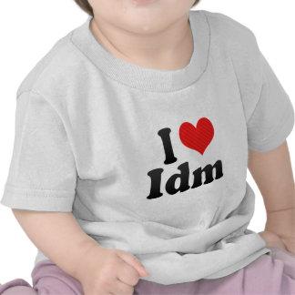 I Love Idm T Shirt