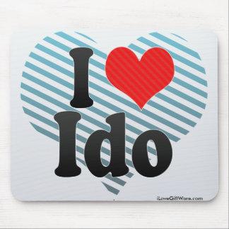 I Love Ido Mouse Pad
