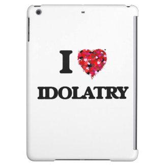 I Love Idolatry iPad Air Covers