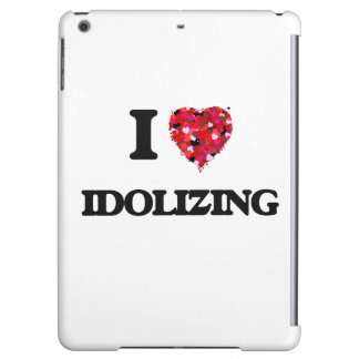 I Love Idolizing Cover For iPad Air