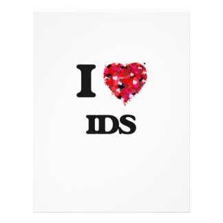 "I Love Ids 8.5"" X 11"" Flyer"