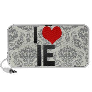 I Love IE Portable Speakers