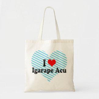 I Love Igarape Acu Brazil Bags