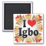 I Love Igbo Refrigerator Magnet