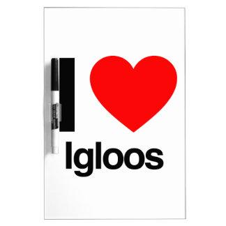 i love igloos dry erase whiteboards