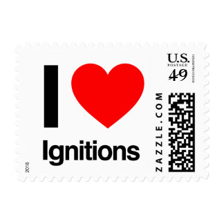 i love ignitions postage