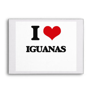 I love Iguanas Envelope