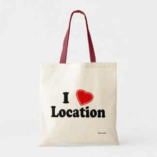 I Love II Budget Tote Bag