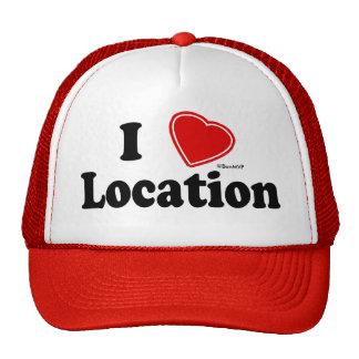 I Love II Mesh Hat