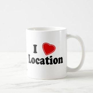 I Love II Mugs