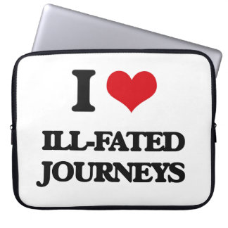 I love Ill-Fated Journeys Laptop Sleeves