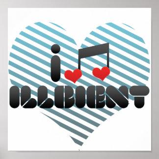 I Love Illbient Print