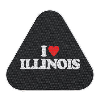 I LOVE ILLINOIS BLUETOOTH SPEAKER