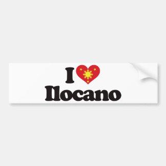 I Love Ilocano Bumper Sticker