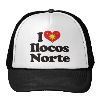 I Love Ilocos Norte Hats
