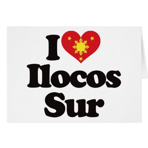 I Love Ilocos Sur Card